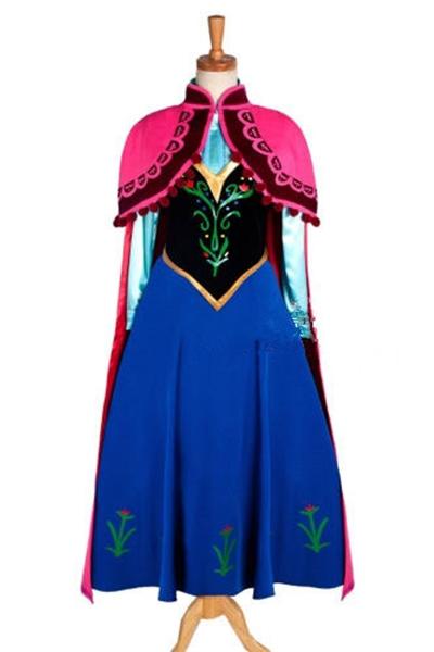 アナと雪の女王 コスプレ衣装